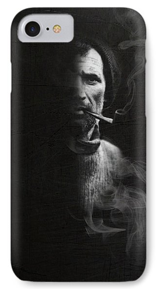 Portrait Of Tom Crean Antarctic Explorer Phone Case by Andy Walsh