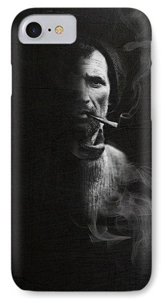 Portrait Of Tom Crean Antarctic Explorer IPhone Case