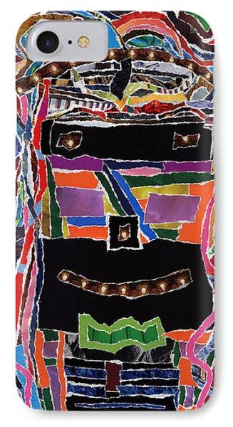 portrait of who   U  Me       or      someone U see  IPhone Case