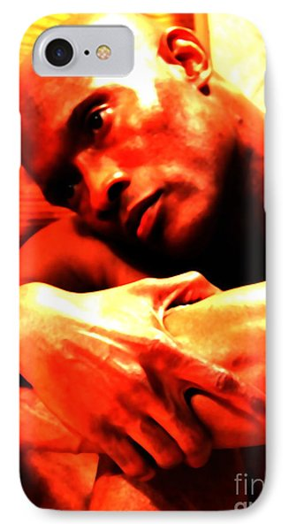 Portrait Of Will IPhone Case by Robert D McBain