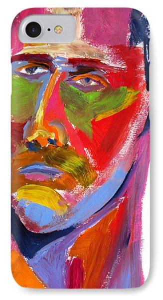 IPhone Case featuring the painting Portrait Prez by Shungaboy X
