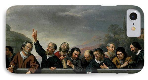 Portraits Of The Inhabitants Of St Jobsgasthuis In Utrecht IPhone Case by Jan Van Bijlert