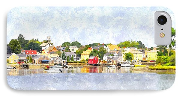 Portsmouth Nh South End Psewc IPhone Case