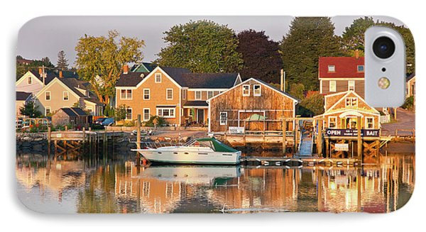 IPhone Case featuring the photograph Portsmouth South End Waterfront by Susan Cole Kelly
