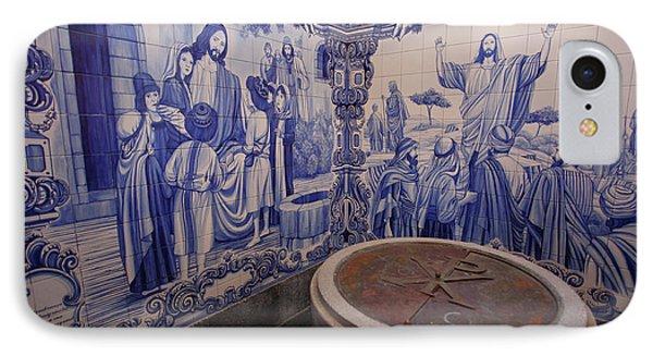 Portuguese Azulejo Mural Phone Case by Gaspar Avila