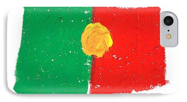 Portuguese Flag Phone Case by Gaspar Avila