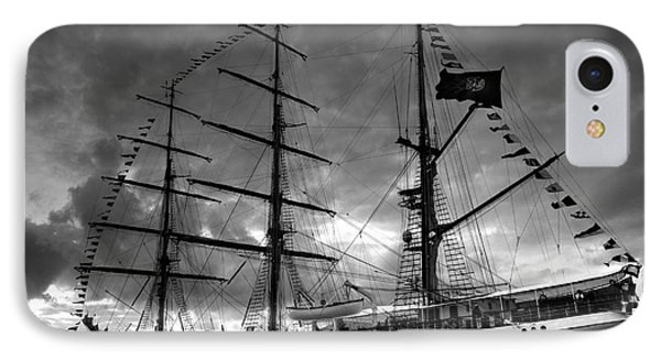 Portuguese Tall Ship IPhone Case by Gaspar Avila