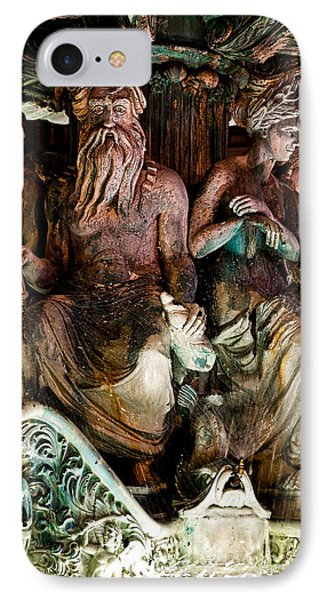 Poseidon And Friends Phone Case by Christopher Holmes