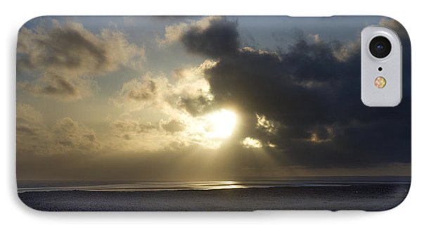 Poseidon Embellished By The Sun IPhone Case by Silvia Bruno