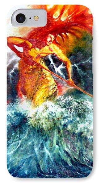 Poseidon IPhone Case by Henryk Gorecki