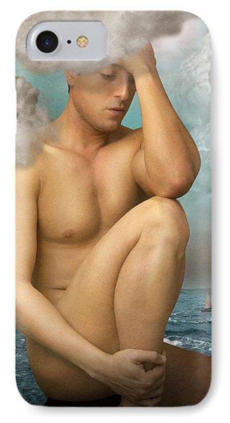 Poseidon IPhone Case by Mark Ashkenazi