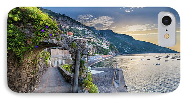 Positano Pathway IPhone Case by Inge Johnsson