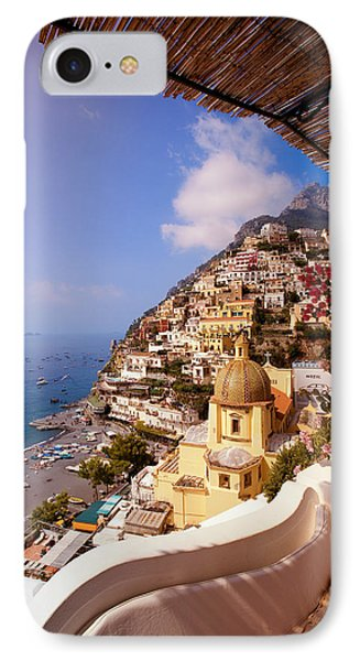 Positano View Phone Case by Neil Buchan-Grant
