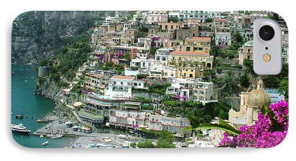Positano's Beach IPhone Case by Donna Corless