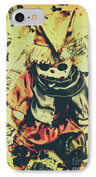 Possessed Vintage Horror Doll  IPhone Case by Jorgo Photography - Wall Art Gallery