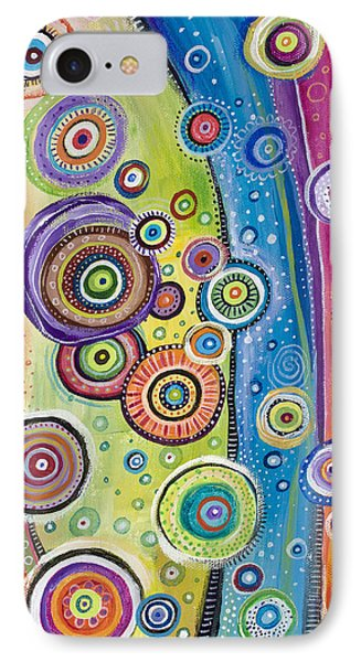 IPhone Case featuring the painting Possibilities by Tanielle Childers