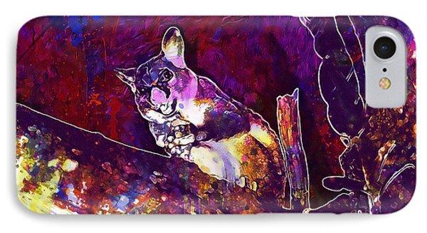Possum Common Brushtail Possum  IPhone Case