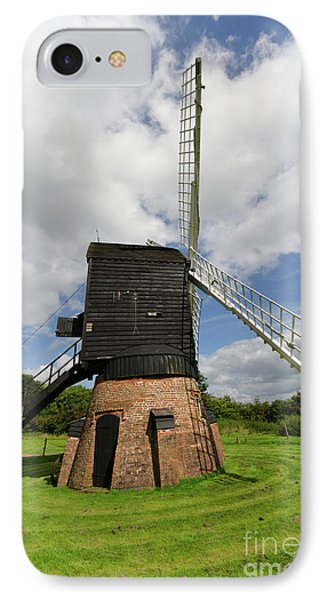 Post Mill Windmill Phone Case by Steev Stamford