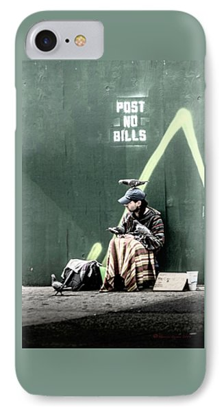 IPhone Case featuring the photograph Post No Bills by Marvin Spates