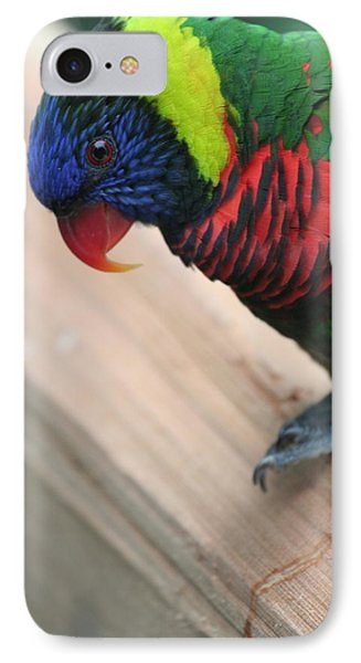 IPhone Case featuring the photograph Post Position by Laddie Halupa