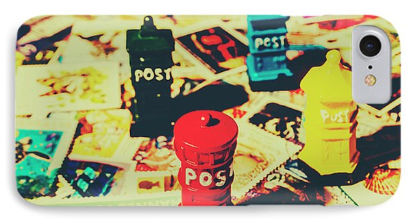 IPhone Case featuring the photograph Postage Pop Art by Jorgo Photography - Wall Art Gallery