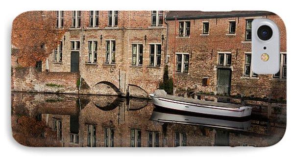 Postcard Canal II Phone Case by Joan Carroll