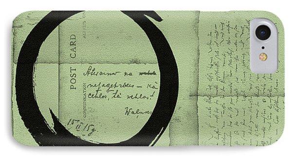 Postcard For Peace Phone Case by Julie Niemela
