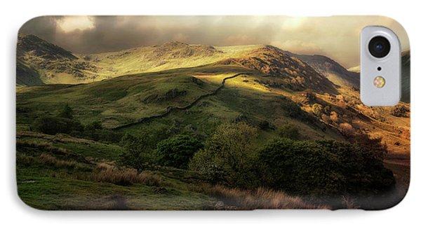 Postcard From Scotland IPhone Case by Jaroslaw Blaminsky