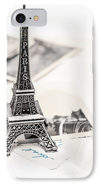 Postcards And Letters From Paris IPhone Case by Jorgo Photography - Wall Art Gallery
