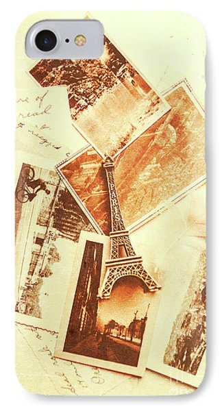 Postcards And Letters From The City Of Love IPhone Case by Jorgo Photography - Wall Art Gallery
