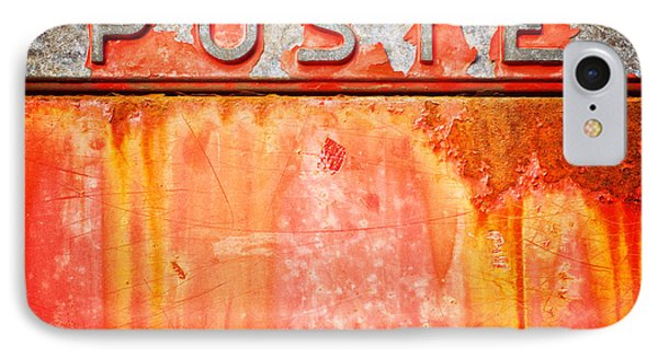 Poste Italian Weathered Mailbox IPhone 7 Case