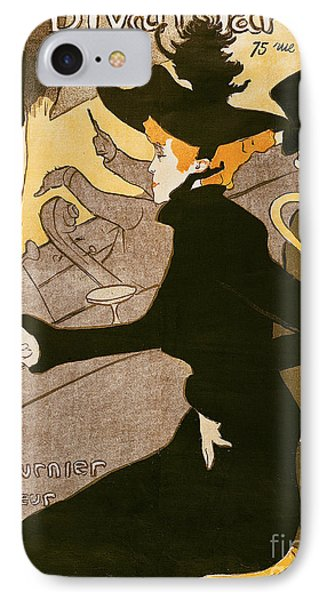 Poster Advertising Le Divan Japonais IPhone Case