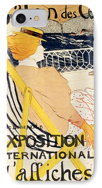 Poster Advertising The Exposition Internationale Daffiches Paris IPhone Case