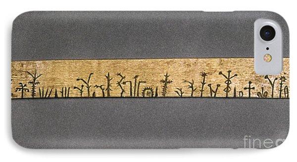 Potawatomi Medicine Stick Phone Case by Granger