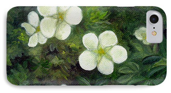 Potentilla IPhone Case by FT McKinstry