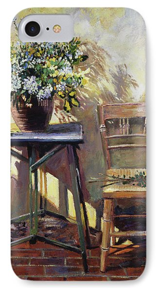 Pottery Maker's Table IPhone Case by David Lloyd Glover