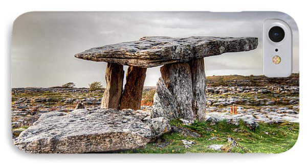 Poulnabrone Dolmen IPhone Case by Natasha Bishop