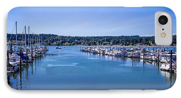 Poulsbo Marina IPhone Case by Randy Bayne