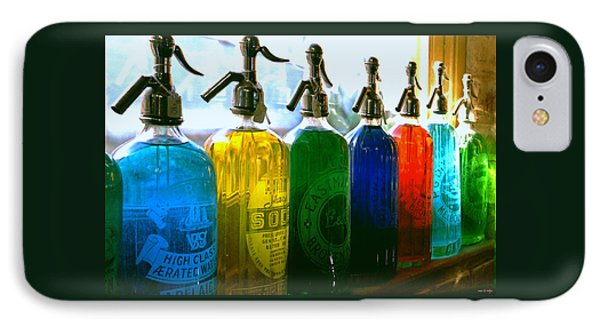 Pour Me A Rainbow IPhone Case by Holly Kempe