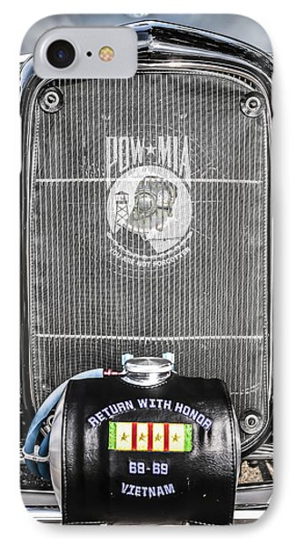 Pow-mia Ford IPhone Case by Chris Smith