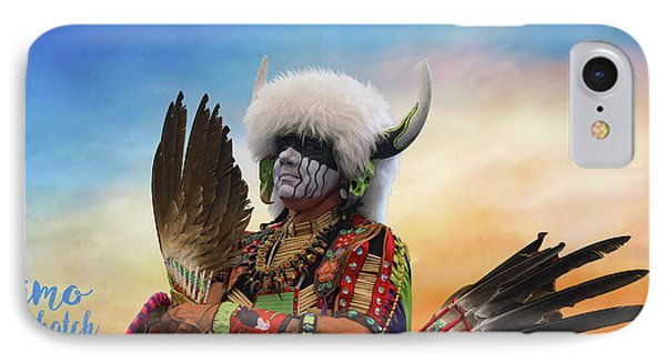 IPhone Case featuring the photograph Pow Wow 3 by Jim  Hatch