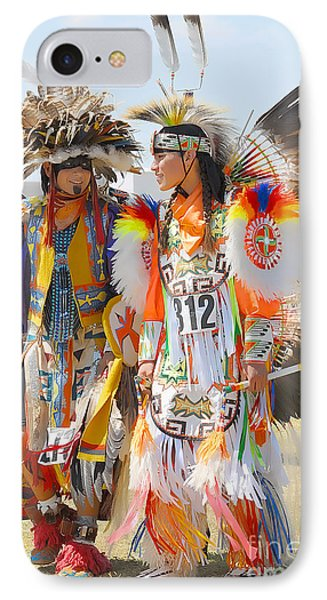 Pow Wow Contestants - Grand Prairie Tx IPhone Case