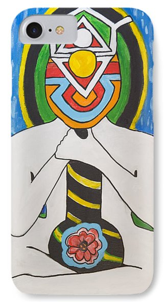Power Above IPhone Case by Jose Rojas