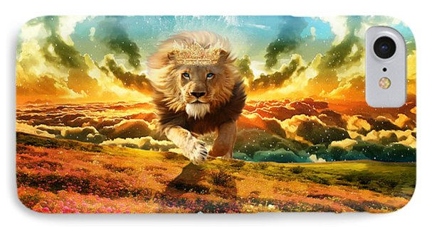 Power And Glory IPhone Case by Dolores Develde