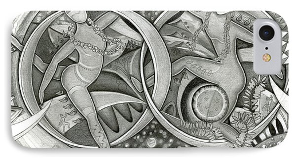 Power Of The Dance - Anniversary IPhone Case by Mark Stankiewicz
