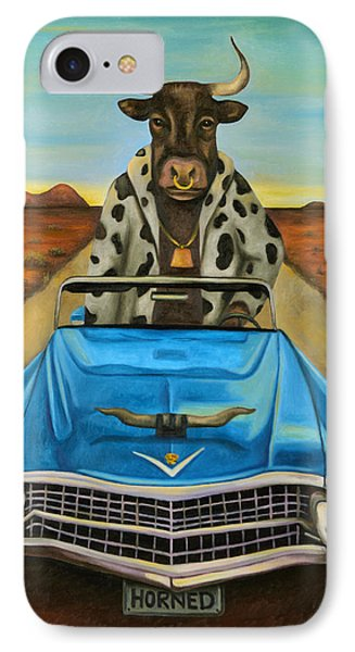 Power Steering IPhone Case by Leah Saulnier The Painting Maniac