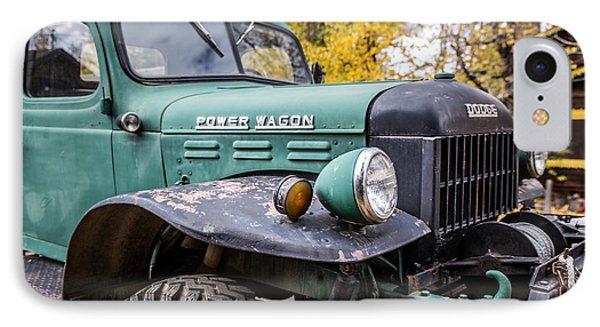 Power Wagon IPhone Case by Lynn Sprowl