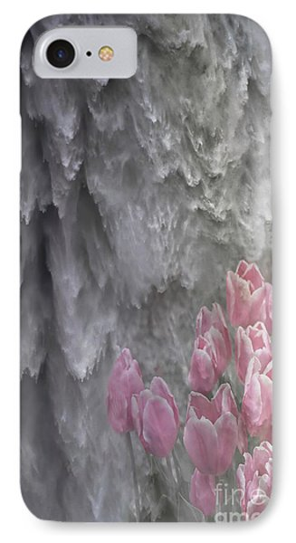 IPhone Case featuring the photograph Powerful And Gentle Waterfall Art  by Valerie Garner