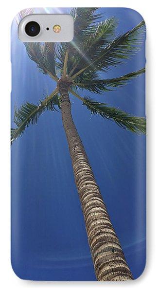 Powerful Palm IPhone Case by Karen Nicholson