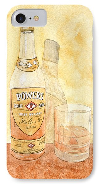 Powers Irish Whiskey Phone Case by Ken Powers